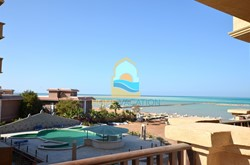 Fully Furnished Two-Bedroom Apartment With Sea and Pool View For Rent
