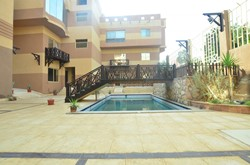 Amazing 2 bedroom apartment with beautiful pool view in Solymar compound