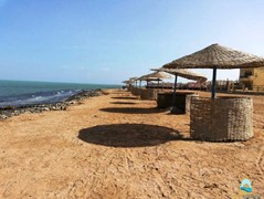 А spacious 3 bed flat for rent with private beach