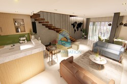 Sea-view duplex for sale in